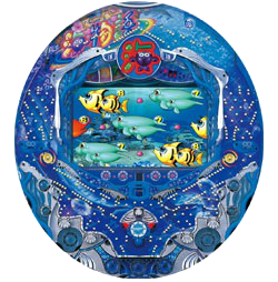 CRスーパー海物語M55W 筐体画像