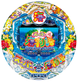 CRAスーパー海物語 SAE5 筐体 画像 盤面