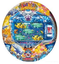 CRプレミアム海物語LTL 筐体画像 ミドルタイプ